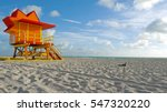miami beach  florida  ... | Shutterstock . vector #547320220