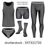 underwear collection for men ... | Shutterstock .eps vector #547321720