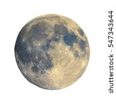 Full Moon Seen With An...