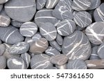 Striped Pebble Background