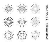 firework exploding vector ... | Shutterstock .eps vector #547376908