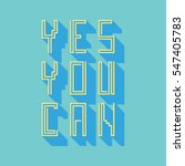 "vector linear hipster font ""yes ... 