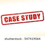 illustration of case study text ... | Shutterstock .eps vector #547419064