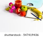 healthy eating  workout and... | Shutterstock . vector #547419436