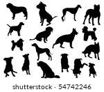 dogs | Shutterstock .eps vector #54742246