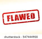 illustration of flawed text... | Shutterstock .eps vector #547444900