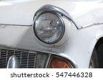 classic car's headlight design  ...   Shutterstock . vector #547446328