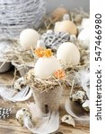 Simple Easter Decoration With...