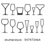 set of empty different shapes... | Shutterstock .eps vector #547472464