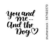 Dog Adoption Hand Written...