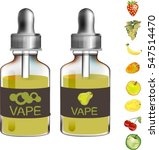 photo realistic bottle with... | Shutterstock .eps vector #547514470