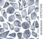 vector seamless pattern with... | Shutterstock .eps vector #547517146