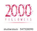 2000  two thousand  followers....