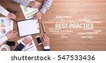 business concept  best practice ... | Shutterstock . vector #547533436