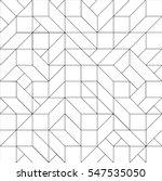 isometric pattern vector... | Shutterstock .eps vector #547535050
