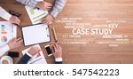 business concept  case study... | Shutterstock . vector #547542223