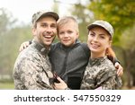 Military Family Reunited On A...
