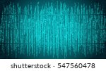 abstract cyberspace with... | Shutterstock .eps vector #547560478
