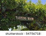 Wine Taste Room Sign At...