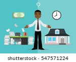 cartoon character  the choice...   Shutterstock .eps vector #547571224