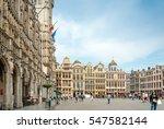 brussels  belgium   june 16 ... | Shutterstock . vector #547582144