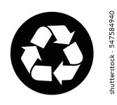 recycle icon | Shutterstock .eps vector #547584940