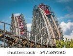 hershey  pa   june 24  2011 ... | Shutterstock . vector #547589260