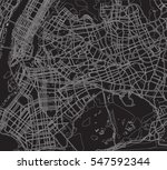 black and white scheme of the... | Shutterstock .eps vector #547592344
