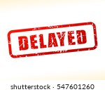 illustration of delayed text... | Shutterstock .eps vector #547601260