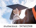 graduates of the university of... | Shutterstock . vector #547602508