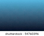 seamless halftone dot pattern...   Shutterstock .eps vector #54760396