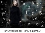 numerology  magic of numbers | Shutterstock . vector #547618960