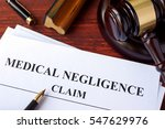 medical negligence claim  and... | Shutterstock . vector #547629976