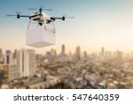 3d Rendering Delivery Drone...