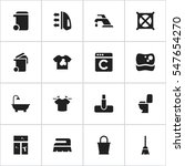 set of 16 editable cleanup...   Shutterstock . vector #547654270