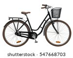 black urban city bike photo | Shutterstock . vector #547668703