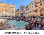rome  italy   december 29 ... | Shutterstock . vector #547686568