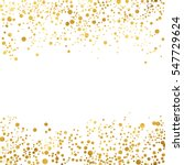 gold glitter background polka... | Shutterstock .eps vector #547729624