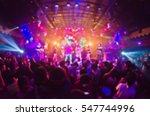 Stock photo blur club party 547744996