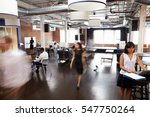 interior of busy design office... | Shutterstock . vector #547750264
