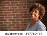head and shoulders portrait of... | Shutterstock . vector #547760494