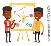 two african businessmen... | Shutterstock .eps vector #547766674