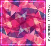 abstract geometric background ... | Shutterstock .eps vector #547779670