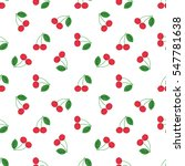 seamless pattern of fruit  ... | Shutterstock .eps vector #547781638