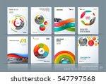 business vector. brochure... | Shutterstock .eps vector #547797568