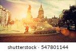 buenos aires  national congress ... | Shutterstock . vector #547801144