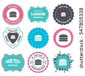 label and badge templates.... | Shutterstock .eps vector #547805338