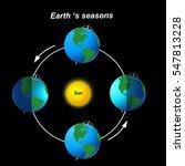 earth's season | Shutterstock .eps vector #547813228