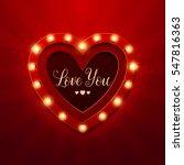 valentine s day background.... | Shutterstock .eps vector #547816363