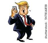 january 3  2017. donald trump... | Shutterstock .eps vector #547816858